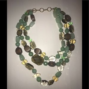 Stella & Dot Camilla necklace Beautiful crystal